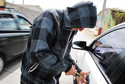 el robo de autos pasa en todas partes