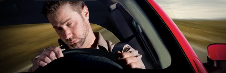 quedarte dormido al volante es muy peligroso