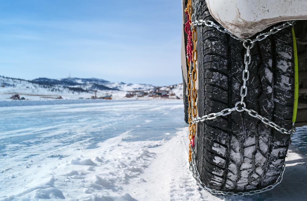 En invierno hay que llevar siempre las cadenas de nieve