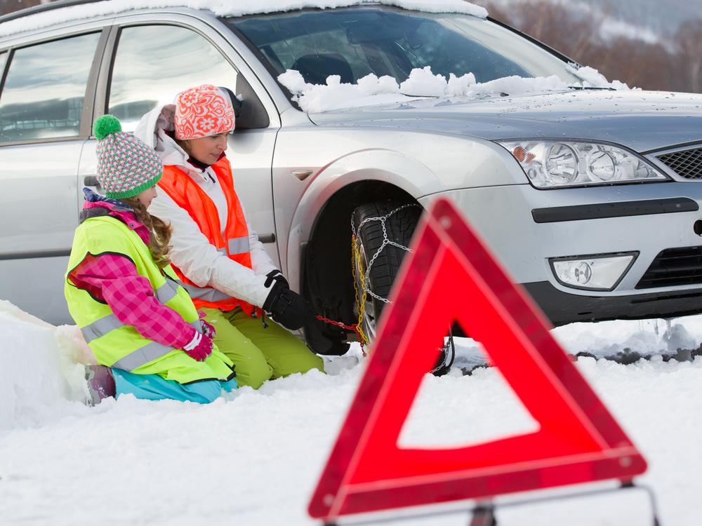prepárate ante el frío si vas a salir con tu auto mucho tiempo